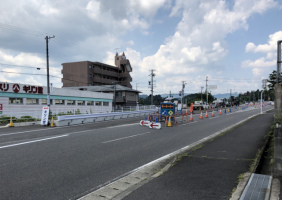 名張上野バイパス道路切り替え。本日7月31日から
