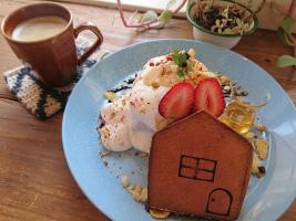 上新庄駅南口近くの、パンとカフェの店『BRUNO』に。。。