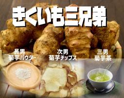 農家直営の菊芋専門店クラウドファンディングプロジェクト