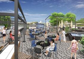 天王洲セントラルタワーキャナルガーデンにオーシャンスタイルレストラン「ライド」本日オープン!