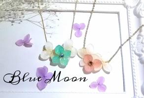 14115レジンアクセサリー教室 Blue Moon