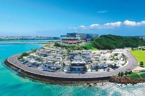 癒しと感動のアイランドリゾート...沖縄県豊見城市瀬長の「瀬長島ウミカジテラス」