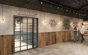 大阪・梅田ESTの新たな食のエリア エストフードホール内に「PIZZA423」2月19日オープン!