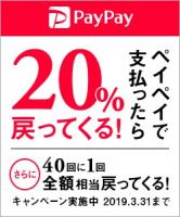 PayPay(ペイペイ)でお支払いができるようになりました。
