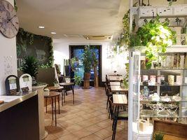 日本茶とお花がテーマのお店...茨城県水戸市見和2丁目の茶カフェ「リーフガーデン」