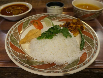 バングラチキンカレーセット