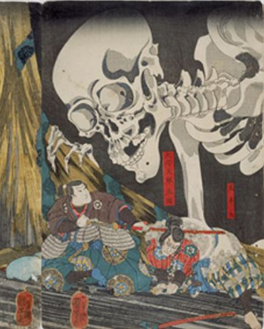 """<p>武者絵や戯画に新機軸を打ち出し、幕末浮世絵界のさらなる活性化につなげた歌川国芳(くによし)。国芳の弟子で幕末から明治に和洋を融合した画風で人気となった月岡芳年(よしとし)。本展では国芳とともに、芳年、芳幾(よしいく)ら国芳の弟子たちにもスポットを当て、幕末から明治にかけて社会情勢が激変するなか、国芳の個性がどのように継承、変化していったのかをたどっていきます。</p><div class=""""thumnail post_thumb""""><a href=""""""""><h3 class=""""sitetitle""""></h3><p class=""""description""""></p></a></div> ()"""
