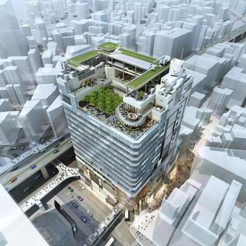 """<p>2019年10月竣工予定の新商業施設渋谷フクラス内に</p> <p>復活する新生「東急プラザ渋谷」が12月5日開業!</p> <p>渋谷フクラスは高さ103メートルを誇り地下4階地上18階のフロアで構成。</p> <p>2~8階、17~18階にオープンする新生「東急プラザ渋谷」を中心に、</p> <p>高層部にオフィスが入るほか、1階の一部には空港リムジンバスも乗り入れる</p> <p>バスターミナルを設置し、渋谷駅西口の新たな玄関口としての役割も果たす。。</p> <p>https://shibuya.tokyu-plaza.com/</p><div class=""""thumnail post_thumb""""><a href=""""https://shibuya.tokyu-plaza.com/""""><h3 class=""""sitetitle"""">東急プラザ渋谷   東急プラザ</h3><p class=""""description"""">「東急プラザ渋谷」公式サイト。</p></a></div> ()"""