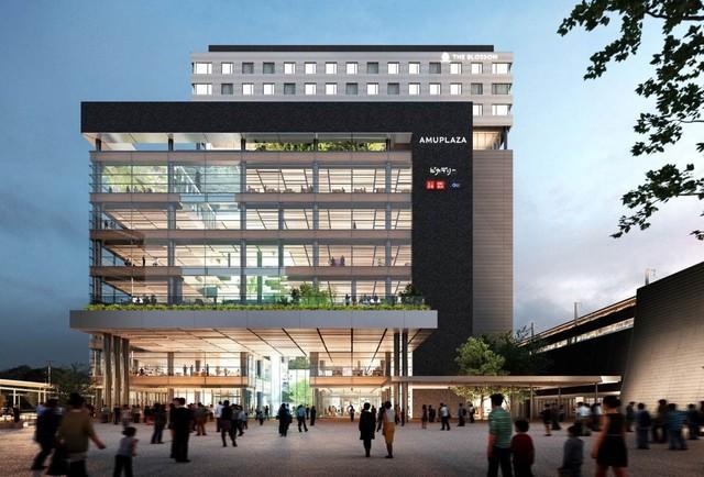 <p>JR熊本駅周辺の再開発により、熊本駅ビル(仮称)と熊本駅北ビル(仮称)が誕生。</p> <p>熊本駅ビル(仮称)には、商業施設「アミュプラザくまもと」2021年春開業!</p> <p>ホテル「THE BLOSSOM KUMAMOTO」も同ビルにオープンする。</p> <p>熊本ピカデリー、ユニクロ、ジーユー、メトロ書店、セガ、ハローデイなど出店。</p> <p>2020年12月開業予定の熊本駅北ビル(仮称)には、ビックカメラが熊本初出店となる。</p> ()