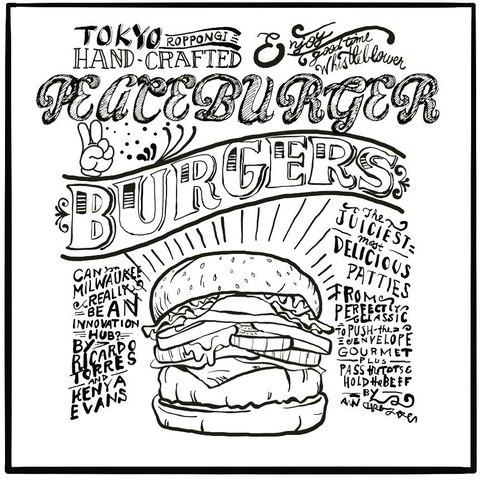 <div>『Peace Burger』4/1.GrandOpen</div> <div>和食料理人がメニュー考案し、創り出す</div> <div>ひと味違う絶品オリジナルバーガー。</div> <div>東京都港区六本木7-12-23六本木フォルトゥーナビル1F</div> <div>https://www.instagram.com/peaceburger_roppongi/<br /><br /></div> ()