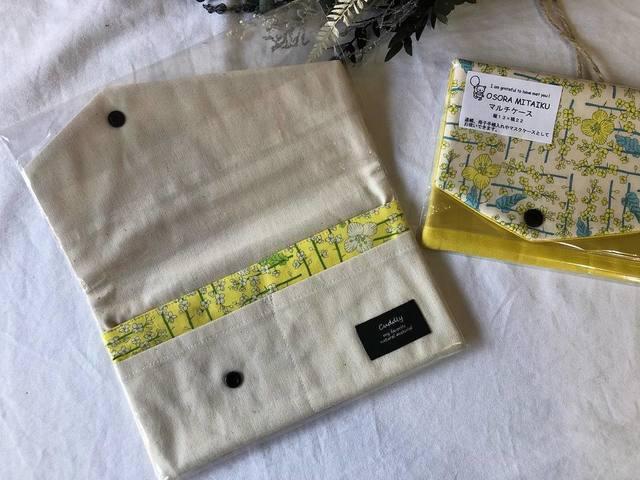 """<p>こんにちは。ココチザッカです😊<br />作家『osora mitaiku』様をご紹介します。<br />○マルチケース ○バネポーチ ○ハンカチ<br />丁寧に作られていて、縫製も綺麗です✨<br />ハンカチは、ホワイトデーのお返しや、<br />お世話になった方へのプチプレゼントにもオススメ💘<br />https://www.instagram.com/p/CLm_mNmHAaK/<br /><br /></p> <p>ココチ雑貨インスタライブの動画(R2.8/1)<br />https://www.instagram.com/p/CDU89aOn76Z/</p> <p><br />レジにて無料ラッピングも承っております、お気軽にお声がけください!<br />また、プレゼント選びに悩まれている方は、スタッフにお声がけください。<br />お好みを聞いて、プレゼント選びのお手伝いをさせて頂きます。<br />お取り置き、全国郵送も可能です。クリックポストで送料188円。<br />お問い合わせは、メールまたはお電話で受け付けております。</p> <p><br /><strong>cocochizakka</strong> 奈良県香芝市狐井613 2階 ・・・・・・・<br />open:10:00-17:00 close:日曜.木曜.第三水曜日<br /><strong>☎0745-44-8275</strong> mail:cocochizakka@gmail.com<br /><a href=""""https://www.instagram.com/cocochizakka/"""">Instagram</a><a href=""""https://www.facebook.com/cocochizakka613/"""">Facebook</a><a href=""""/cocochizakka"""">PRtree</a><a href=""""https://cocochizakka.jimdofree.com/"""">HP</a><br />近鉄五位堂駅より徒歩10分 敷地内に20台以上駐車可<br /><br /><strong>ココチキッチン奈良狐井</strong> 奈良県香芝市狐井613 1階 ・・・・・・・<br />open:11:00-14:30 17:30-21:30 close:木曜.第三水曜日<br /><strong>☎</strong><strong>0745-44-8275 ※完全予約制<br /></strong><a href=""""https://www.instagram.com/cocochikitchen/"""">Instagram</a><a href=""""https://twitter.com/cocochikitchen"""">twitter</a><a href=""""https://www.facebook.com/cocochi.kitchen/"""">Facebook</a><a href=""""/cocochikitchen"""">PRtree</a><a href=""""http://www.cocochi-kitchen.com/"""">HP</a><br /><br />🍝ランチご予約フォーム ☞ https://bit.ly/37LSktG<br />※ランチは11時~と13時~の二部制営業になります。<br />前々日(定休日除く)午前中迄のご予約でご利用下さい。<br />前々日(定休日除く)午後以降のご予約はお電話のみの受付になります。<br /><br />🍖ディナーご予約フォーム ☞ https://bit.ly/37LSktG<br />※ディナーは前々日(定休日除く)午前中迄にご予約願います。<br /><br />ココチキッチンメニュー ☞ http://bit.ly/2Lub1cd<br /><br /><a href=""""https://bit.ly/2VkdWrd"""">近鉄五位堂駅からの動画</a> <a href=""""https://bit.ly/2wBiy48"""">近鉄下田駅からの動画</a></p> <div class=""""image"""" style=""""display: inline !important;""""><img src=""""/sv_image/w640h640/vf/K1/vfK135sFmv9tFVVs.jpg"""" /></div> <div class=""""news_area is_type01""""> <div class=""""thumnail""""><a href=""""https://www.instagram.com/p/B9Ghan-pUVe/""""> <div class=""""text""""> <h3 cla"""