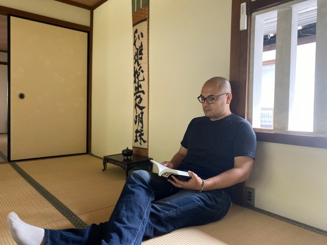 <p>毎月28日は、高野山親王院の護摩行に参加しています。</p> ()